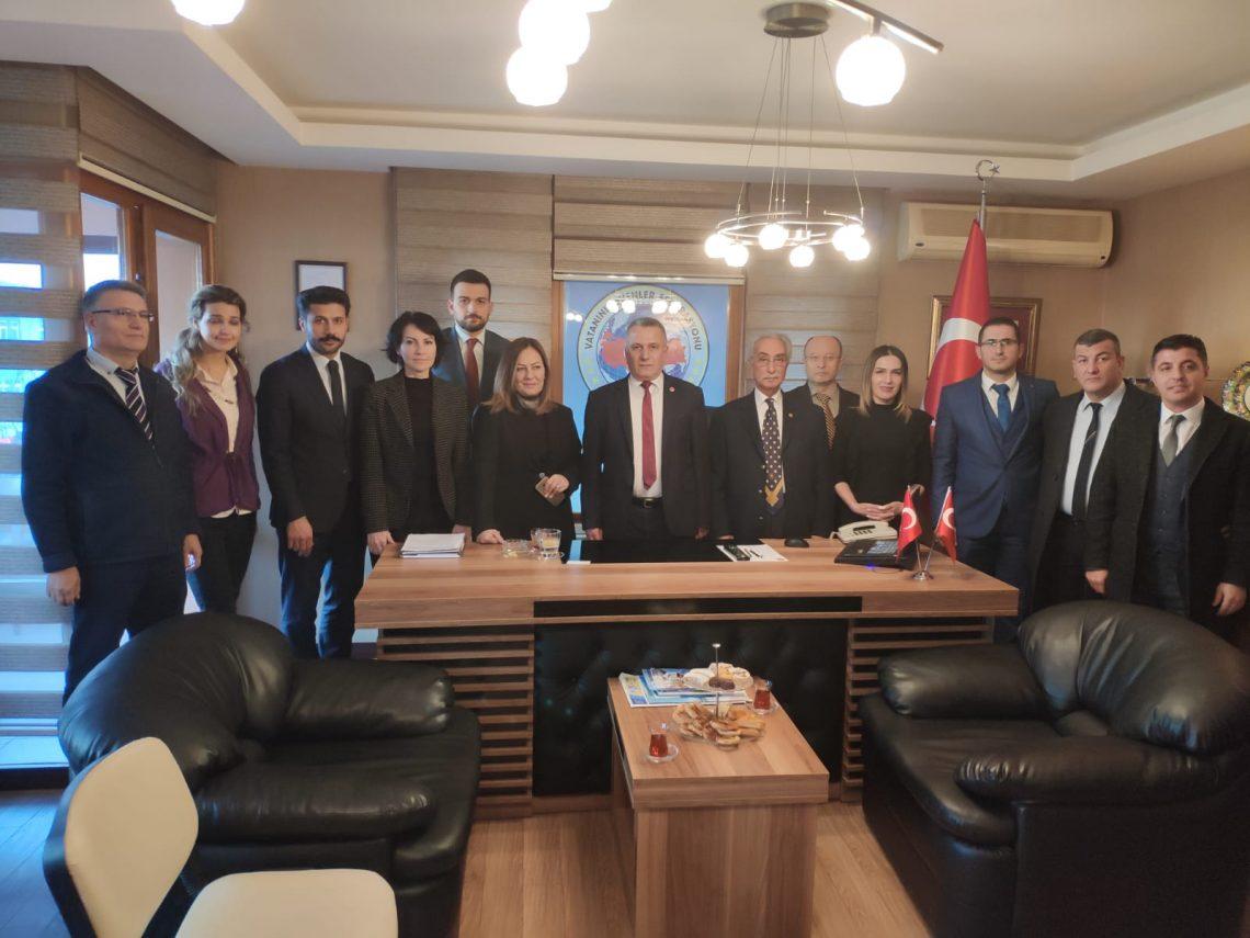 AK Parti Çankaya Belediye Başkan Adayından federasyonumuza ziyaret