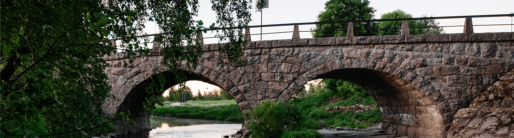 Old bridge. Vanha silta.