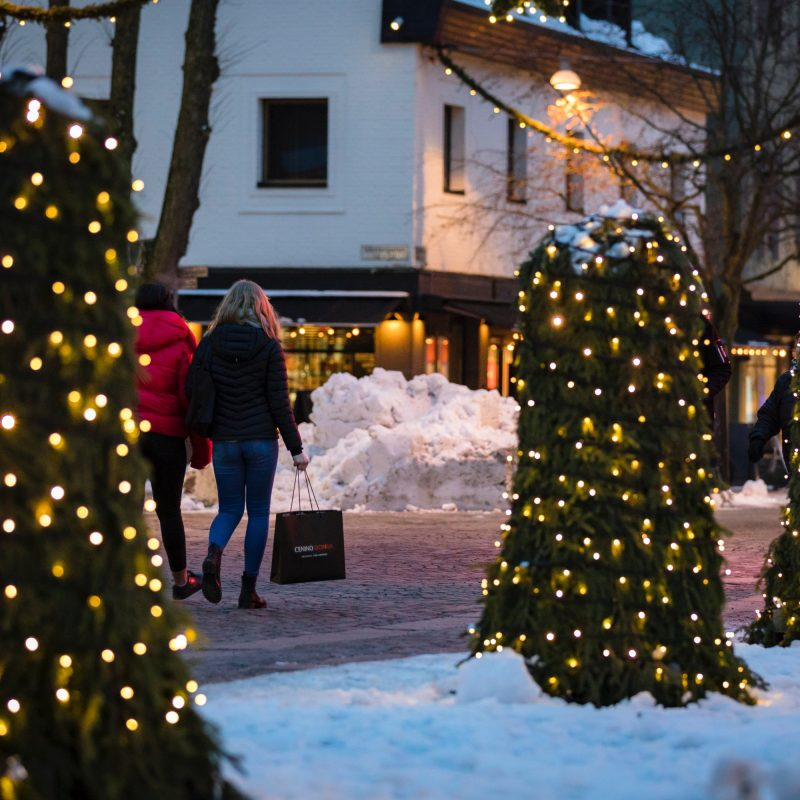 Julskyltning i Växjö