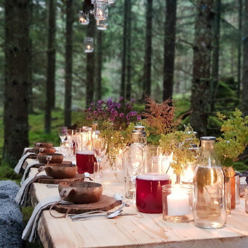 Der Tisch in Småland