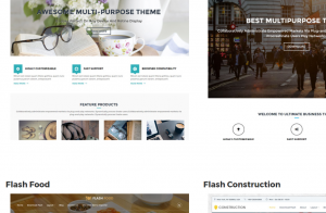Wordpress Theme Flash