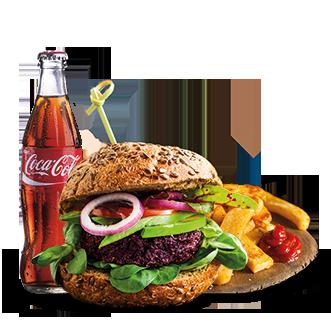 Menù Veggie Burger