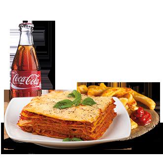 Campidanese Lasagna Menu