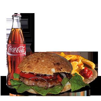 Sardo Burger Menu