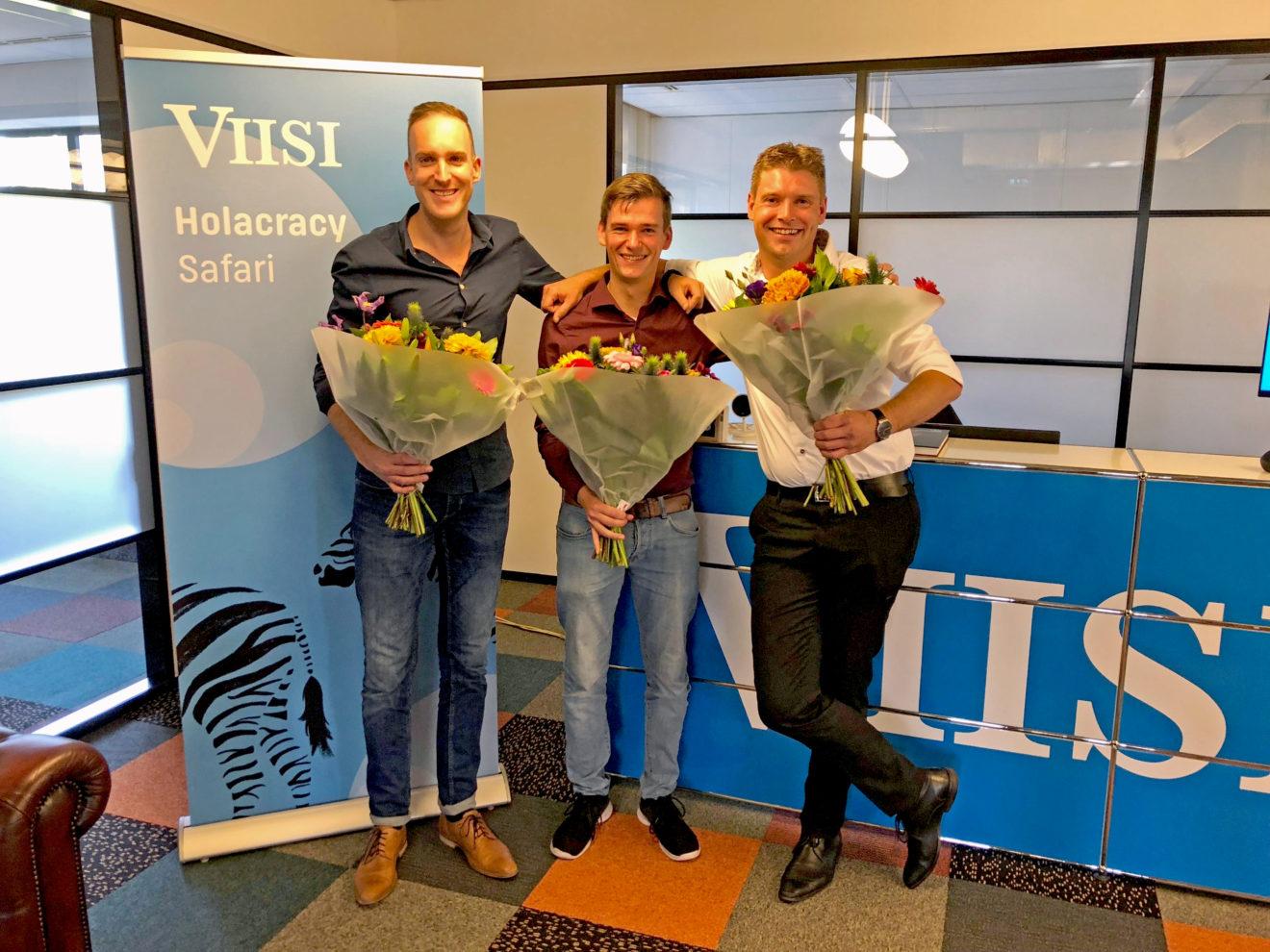 Ryan Heeres, Marc Meulhof en Mels Lodder