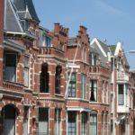 Rij huizen Den Haag
