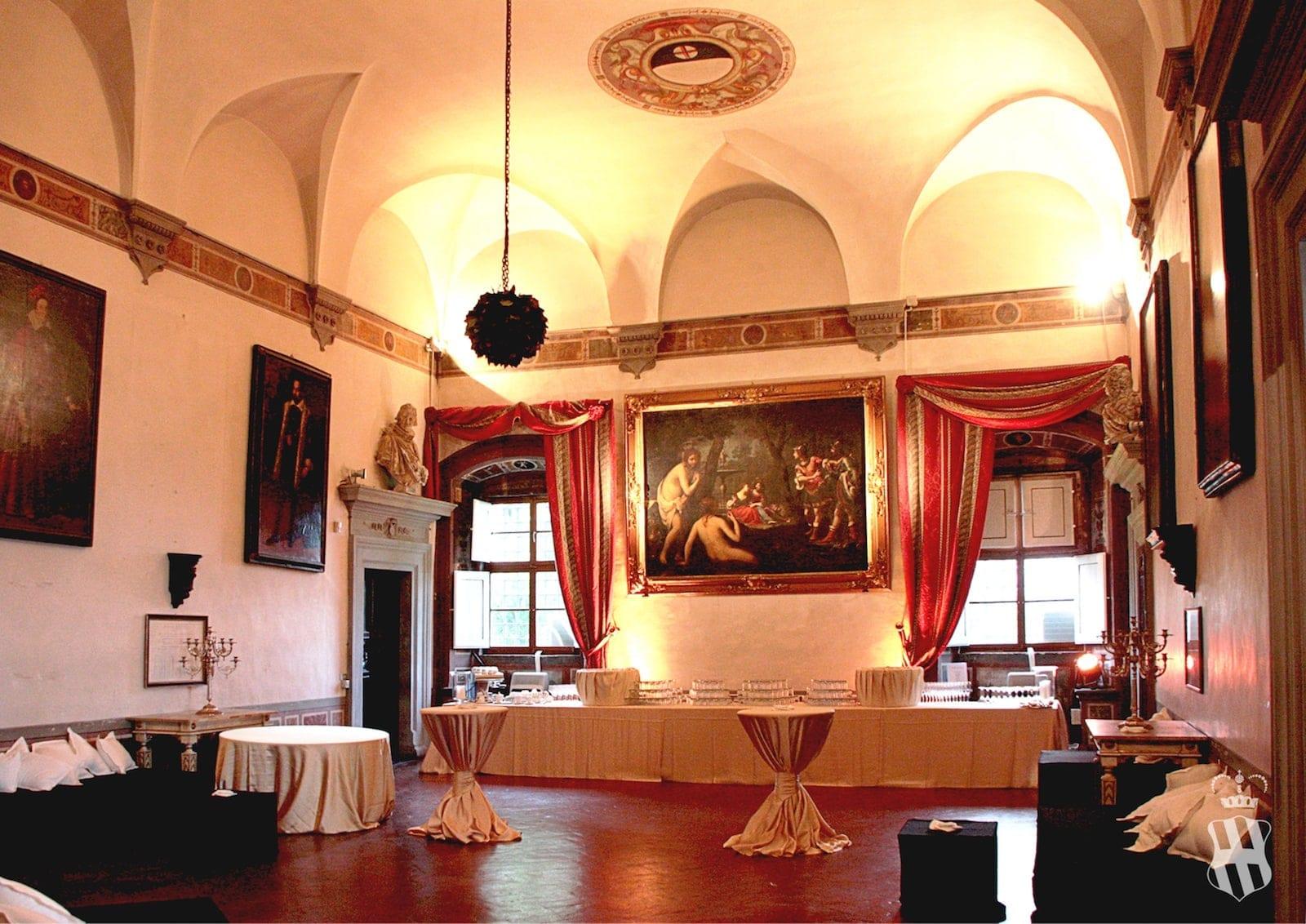 Camere Da Letto Corsini.Gli Ambienti Interni E I Giardini Villa Corsini A Mezzomonte