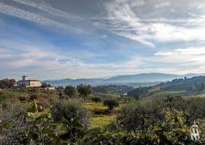 Villa Corsini a Mezzomonte veduta generale general view Tuscany
