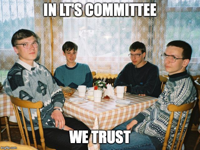 In committee we trust