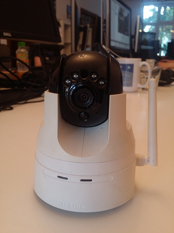photo of the camera