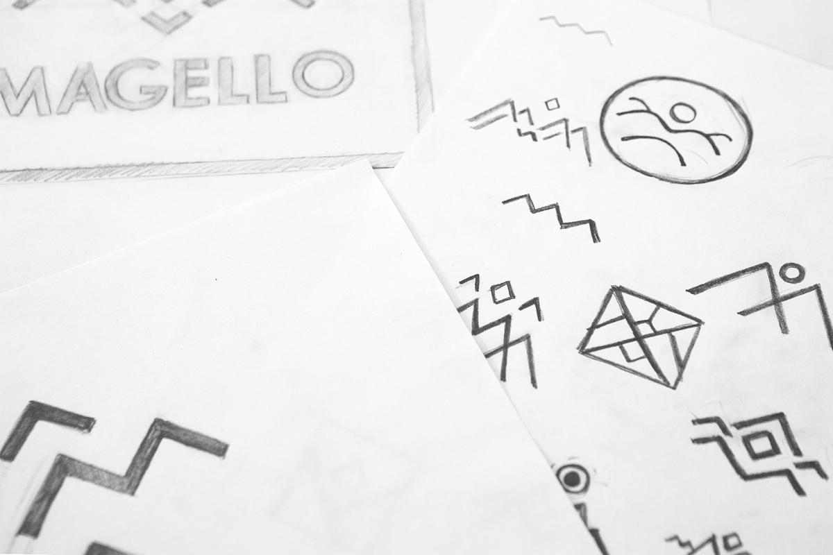 03a magello brand identity