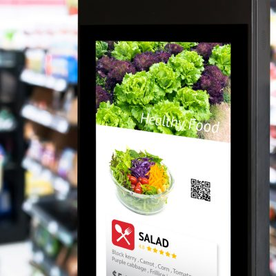 Digital Signage Display im Store
