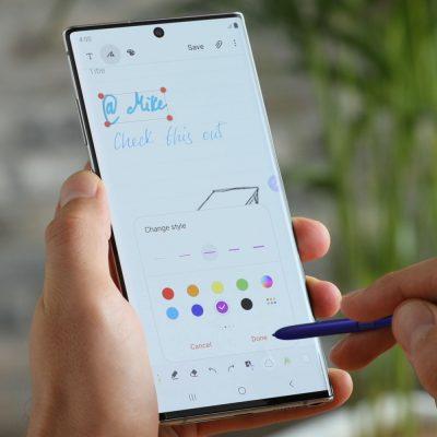 Samsung Galaxy Note10+ im Alltag mit S-Pen
