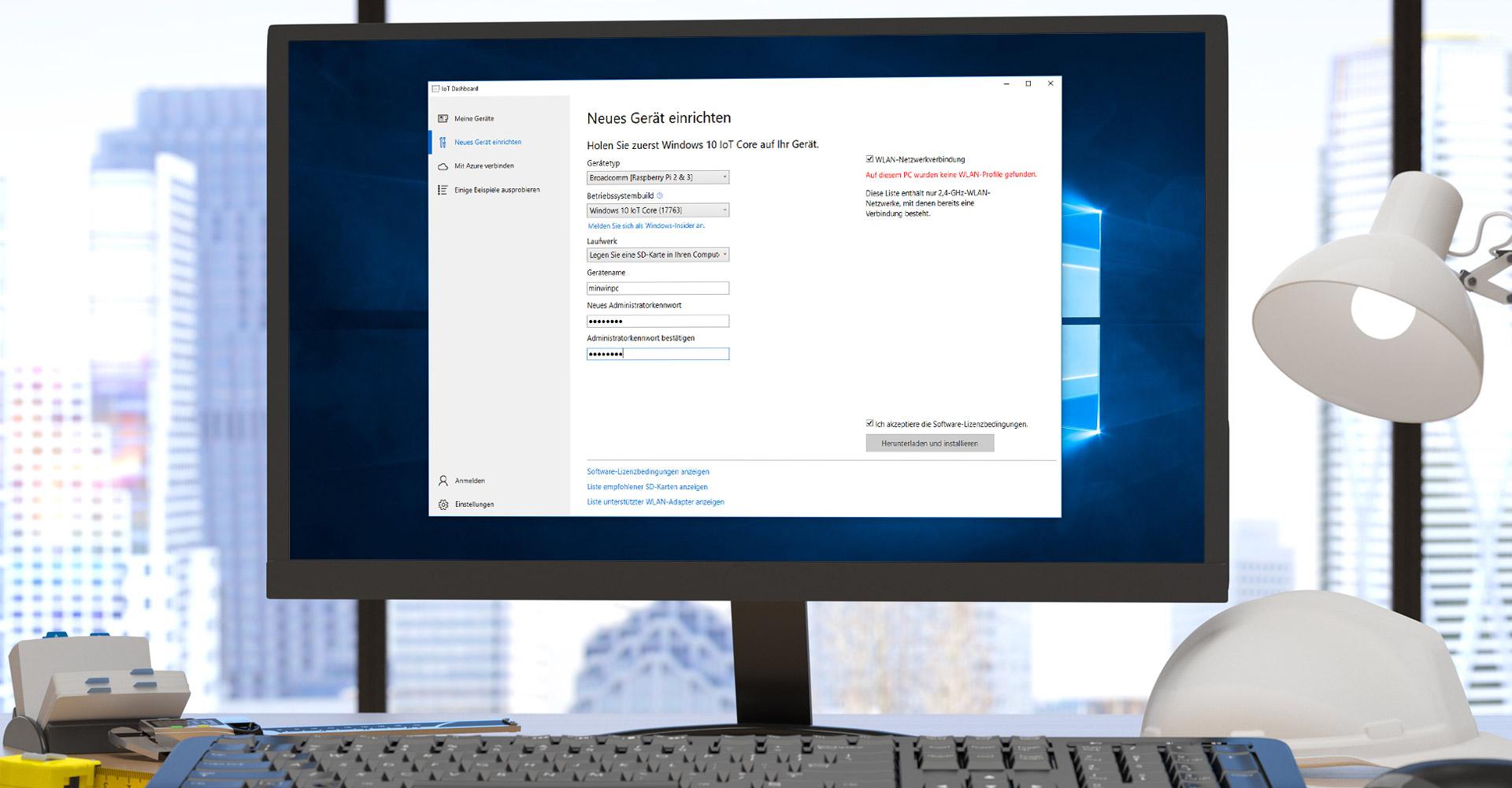Windows 10 IoT Core auf Raspberry Pi 3 installieren: So geht's