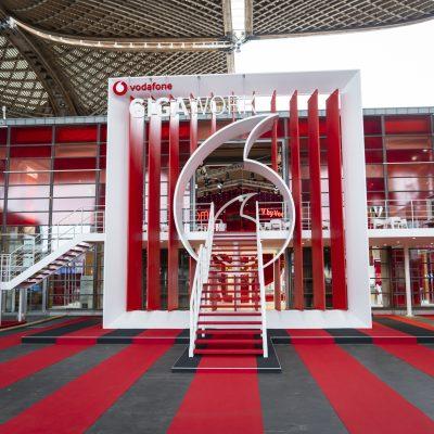 Vodafone auf der CEBIT Messe