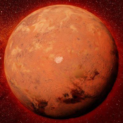 Im Anflug auf den Mars