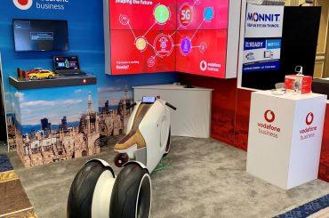 Vodafone IoT auf der CES 2019