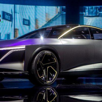 Die Konzeptstudie Nissan IM in einem Showroom auf der Detroit Motor Show