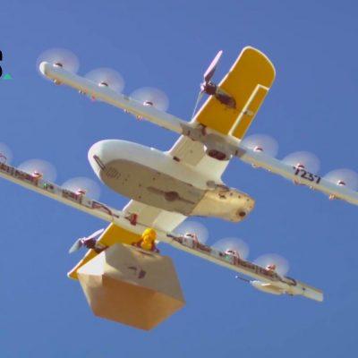 Wing-Drohne des Google-Mutterkonzerns Alphabet