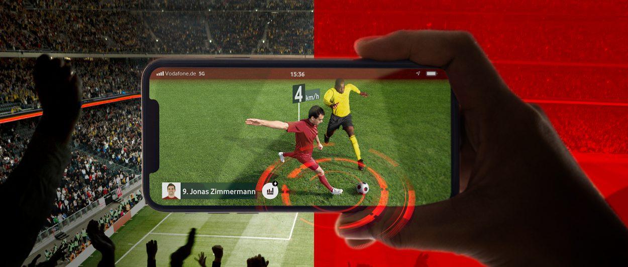Anstoß für 5G: DFL und Vodafone bringen den Stadionbesuch mit Augmented Reality in die nächste Liga.