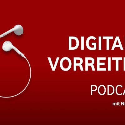 Symbolbild zum Digitale Vorreiter Podcast mit Nina Jetter