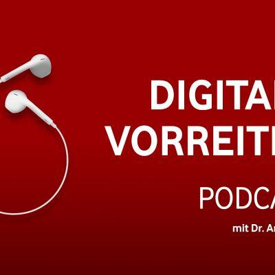 Digitale Vorreiter 29 Text auf rotem Hintergrund