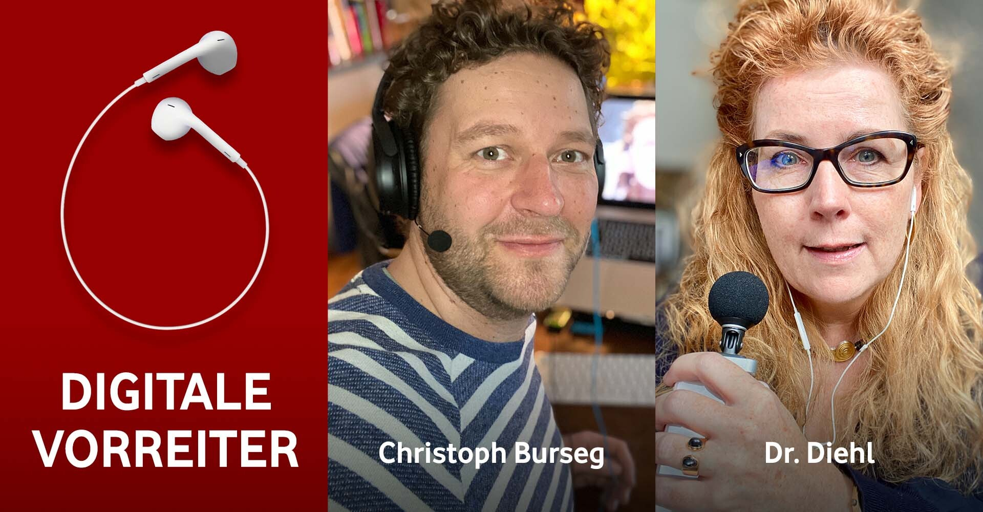 Bild zeigt die beiden Gesprächspartner für Digitale Vorreiter #29