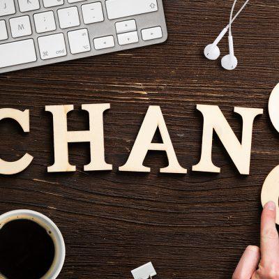 Sinnbild zu Veränderung als Chance