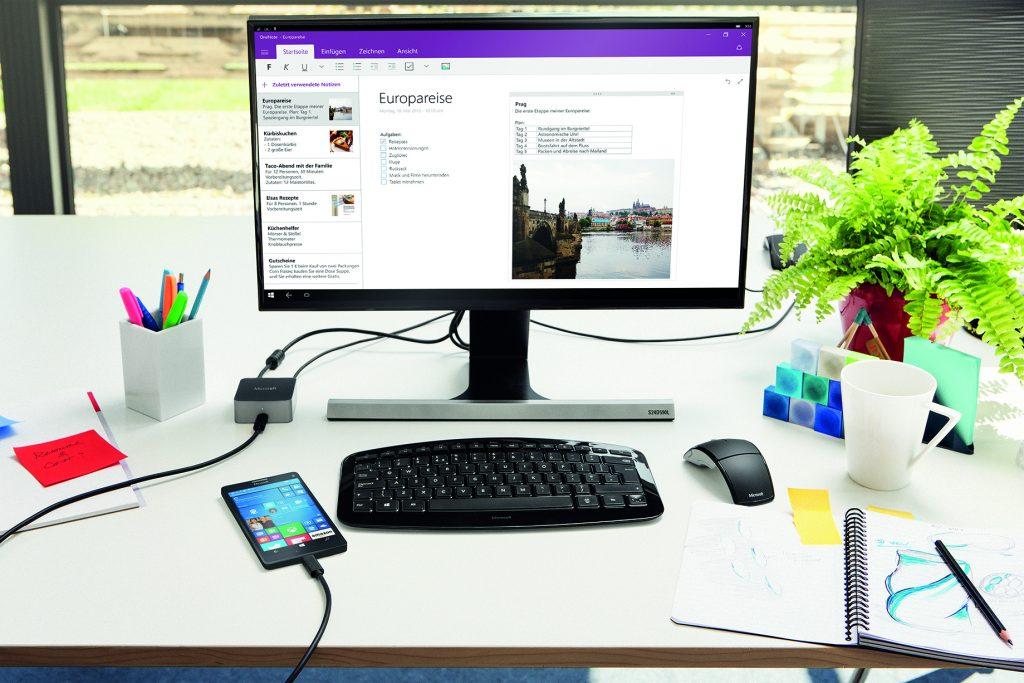 Das Smartphone als Desktop Ersatz im Home Office
