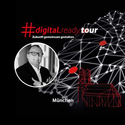 Karl-Heinz Land ist Speaker bei der digital ready tour in Muenchen