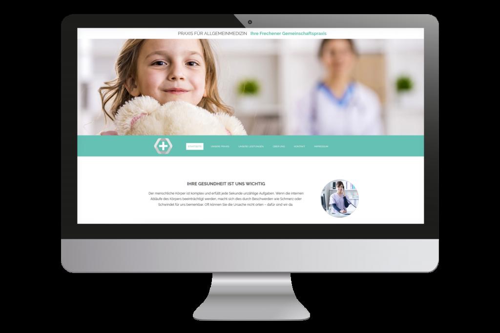 Mit dem Website Builder web4business können Vodafone Kunden individuelle Websites erstellen