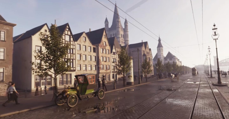 Das historische Köln zur Kaiserzeit als VR-Zeitreise bei Timeride.