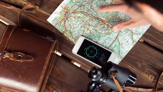 Android Kompass kalibrieren zum Wandern