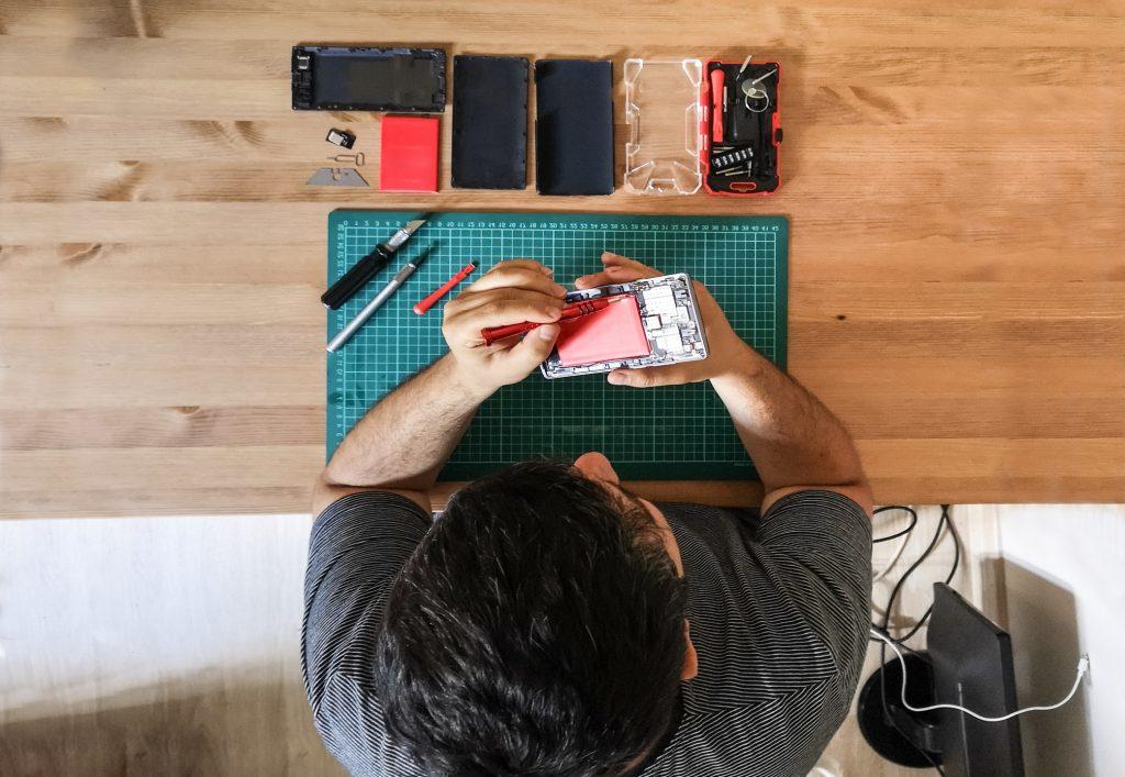 Smartphone trocknen