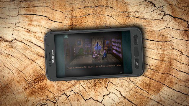 The Last Door auf dem Smartphone