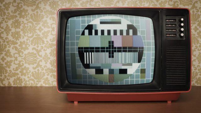 Analoges Fernsehgerät nach PAL-Standard