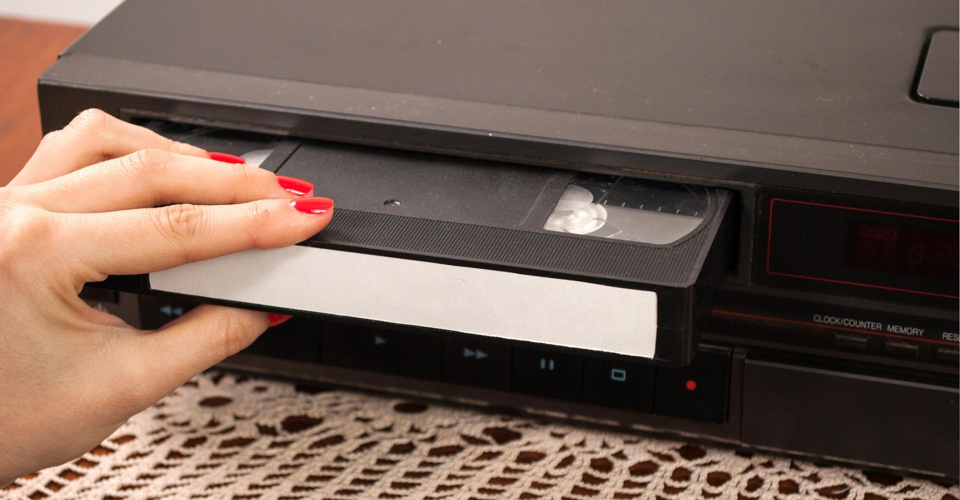 VHS-C Kassette digitalisieren VHS-C Kassetten als MP4 Format überspielen