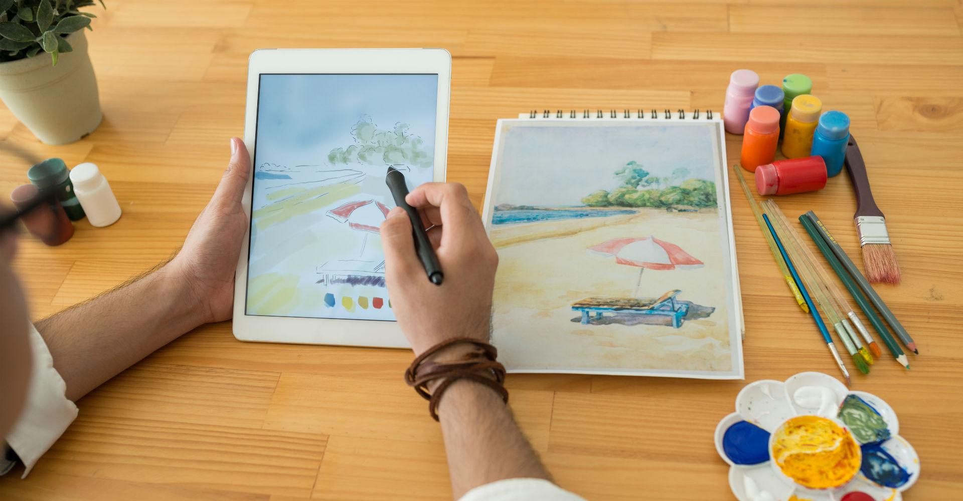 Zeichnen Mit Diesen Android Apps Wirst Du Zum Kunstler