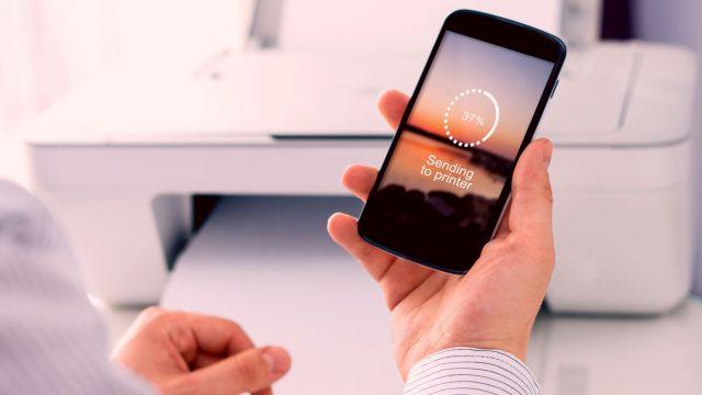 Vom Smartphone aus drucken: Anleitung für iOS & Android