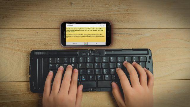 Tastatur für Android: Ein externes Keyboard anschließen