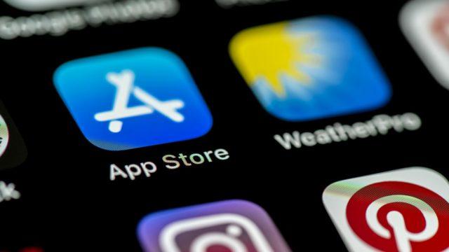 Das App-Symbol von Apples App Store.