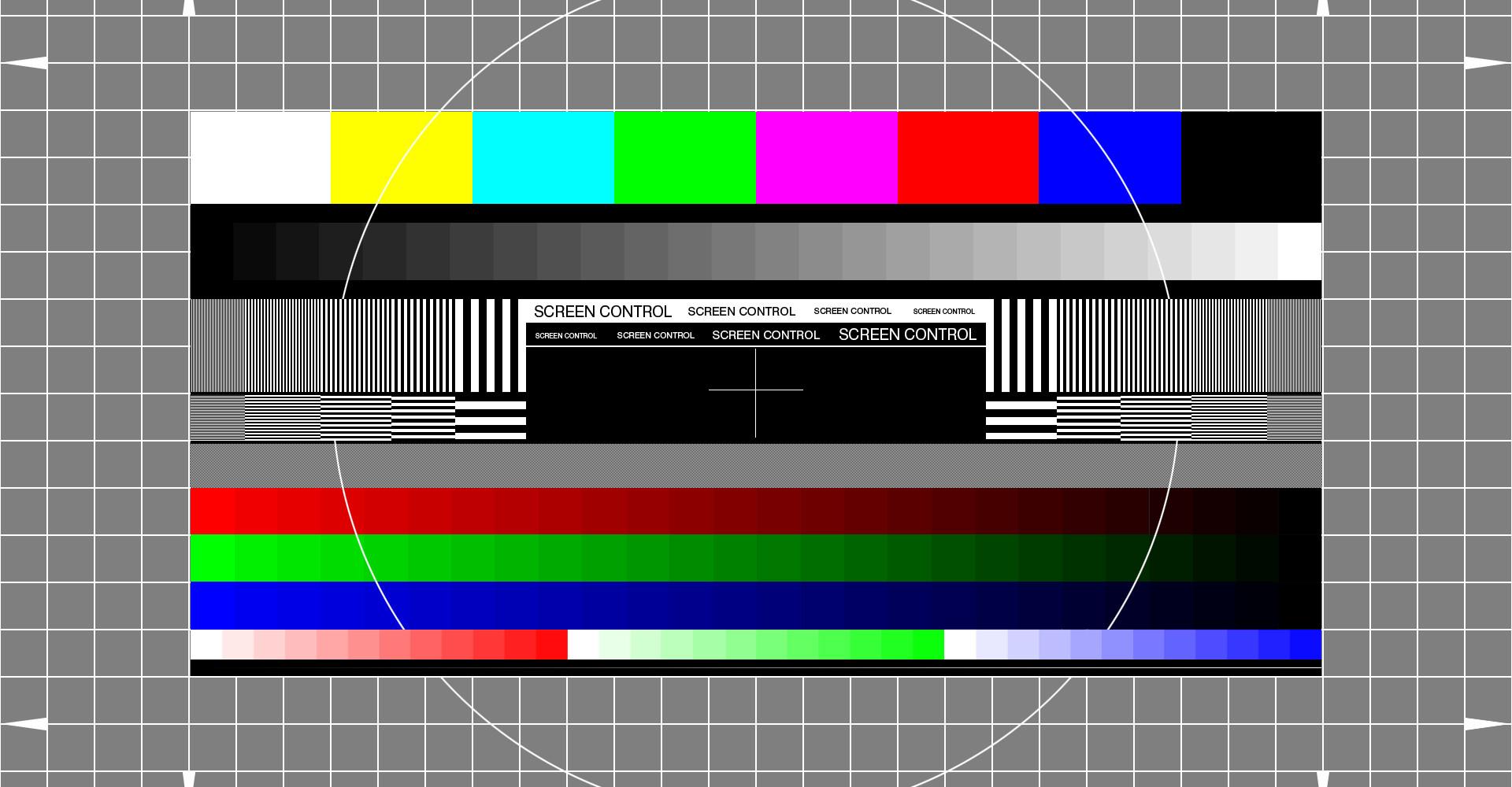 Monitor-Testbild