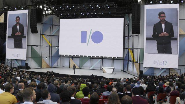 Foto von der Google I/O 2017