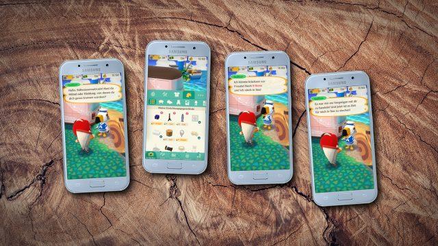 Screenshots aus Animal Crossing: Pocket Camp