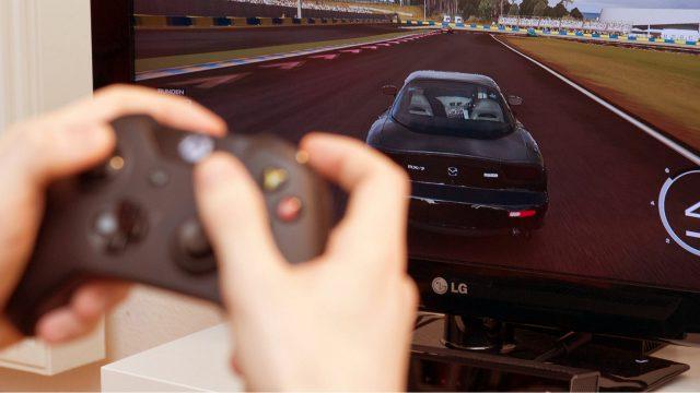 Gaming mit der Xbox One.