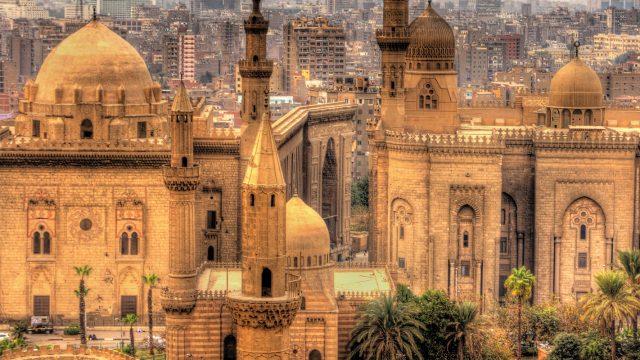 Sultan-Hasan-Moschee in Kairo