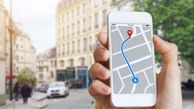 Navigation über das Smartphone