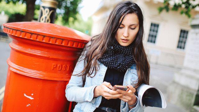 E-Mail-Account auf Smartphone