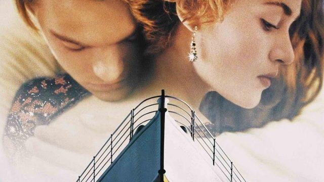 Titanic, Kate Winslet und Leonardo DiCaprio