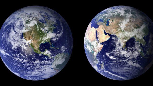 Es gibt eine Neuerung auf Google Maps: Die Erde sieht jetzt aus wie ein Globus